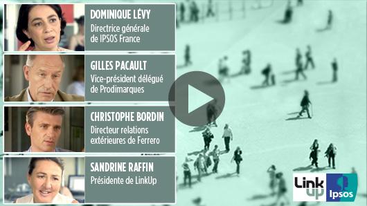 Lire la vidéo <br> 67% des Français préfèrent une marque pare qu'elle apporte une information crédible et compréhensible.<br>   62% des Français préfèrent une marque pare qu'elle prend en compte les effets de ses produits sur la santé.